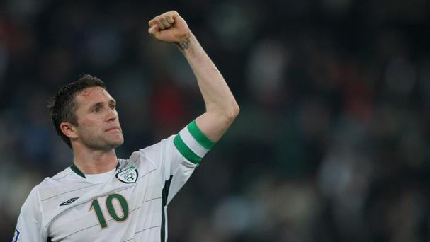 Robbie Keane: Great players can change that picture in a split second. He could do that and that's why he made it Picture: PA
