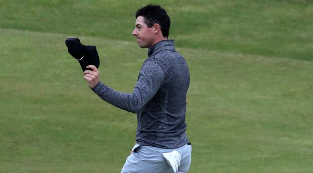 Rory McIlroy had cause for encouragement after his second round at The Barclays