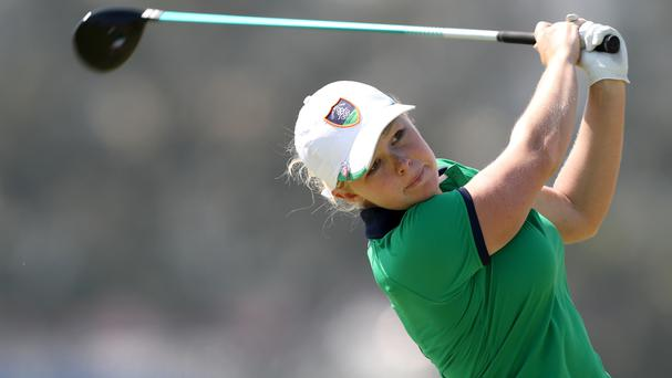 Stephanie Meadow finish tied 10th in Canada