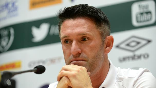 Republic of Ireland skipper Robbie Keane, who will make his final appearance for his country on Wednesday night