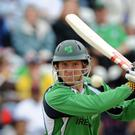 Ireland's Gary Wilson hit 95 against Hong Kong