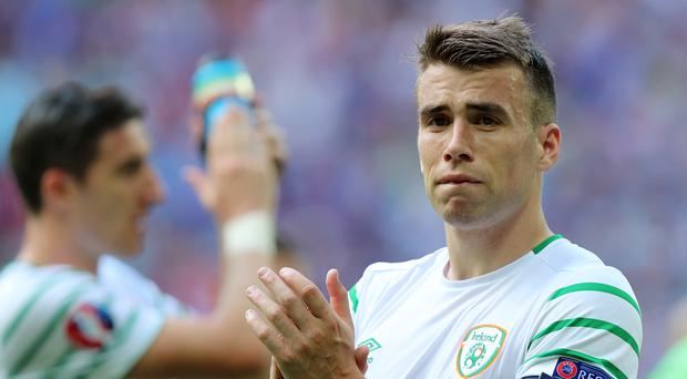Republic of Ireland full-back Seamus Coleman has returned to training after injury