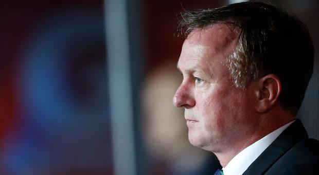 Northern Ireland manager Michael O'Neill was content with a point in Prague