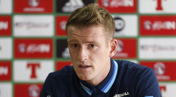 Steven Davis was surprised the Czech Republic did not convert their second-half opportunities