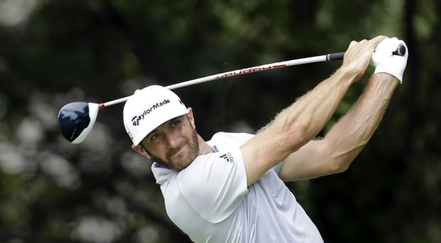 Dustin Johnson was in top form on Friday (AP)