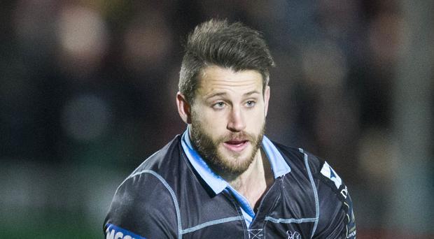 Tommy Seymour plundered four tries