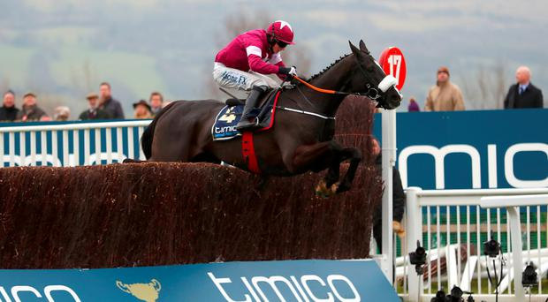 Don Cossack and Bryan Cooper winning the Cheltenham Gold Cup in March Picture: PA