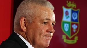 Warren Gatland's Lions side are said to be the highest-paid in history. Picture: PA