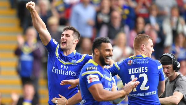 Warrington brothers Toby, left, and George King, who helped their club clinch the League Leaders' Shield, are in Ireland's initial squad for their World Cup qualifiers