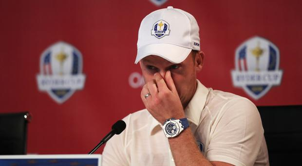 Danny Willett will not play on Friday morning