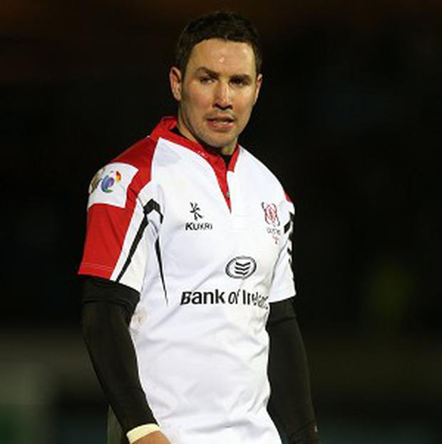 Paddy Wallace in his playing days for Ulster