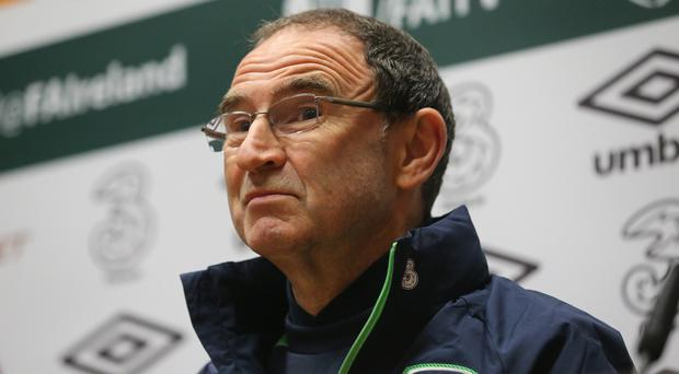 Republic of Ireland manager Martin O'Neill Picture: PA