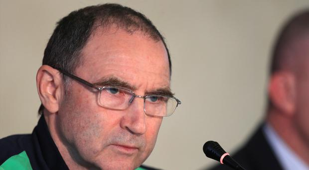 Republic of Ireland manager Martin O'Neill was in defiant mood ahead of Sunday's World Cup qualifier in Moldova