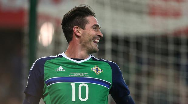 Kyle Lafferty stepped off the bench to score twice