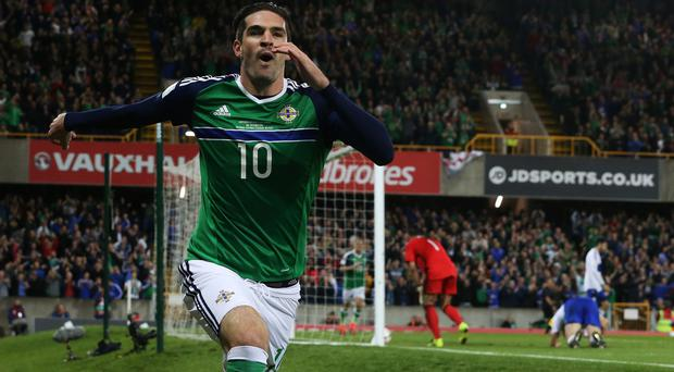 Kyle Lafferty's move could be a boost to Northern Ireland's World Cup qualifying hopes