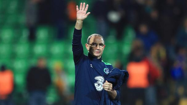 Republic of Ireland manager Martin O'Neill saw his side beat Moldova on Sunday