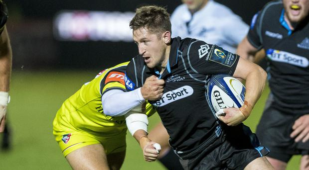 Henry Pyrgos and his team-mates face a Munster side in mourning