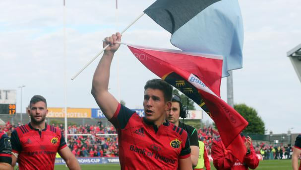 It was an emotional afternoon at Thomond Park