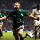 Keith Earls has been named in the Ireland squad to face New Zealand despite being suspended for the game