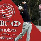 Rory McIlroy was on the move on day two in Shanghai