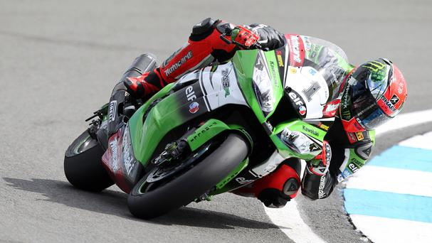 Tom Sykes secured second place in the Superbike World Championship title race