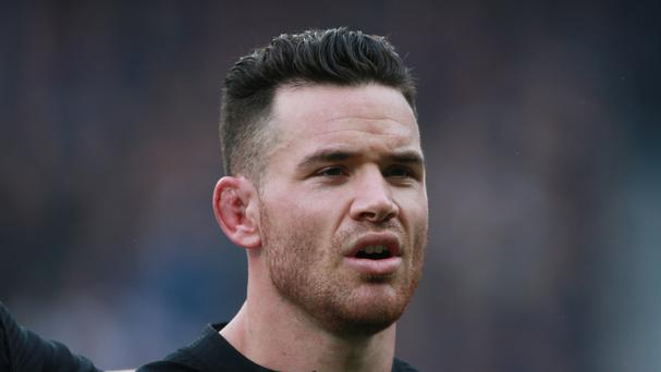 New Zealand's Ryan Crotty is looking forward to the Ireland clash