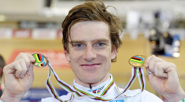 Cyclist Martyn Irvine ended Ireland's 117-year wait for track gold