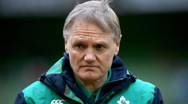 Ireland head coach Joe Schmidt has named his side to face New Zealand