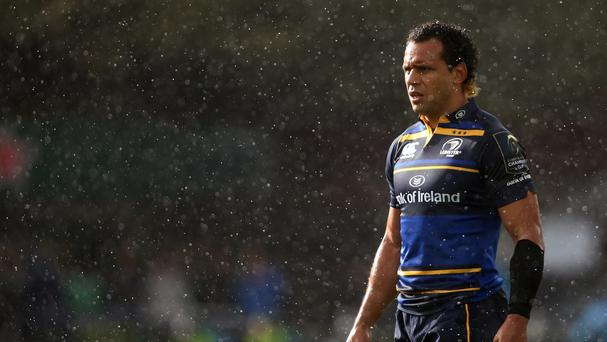 Isa Nacewa converted four of Leinster's five tries at Zebre