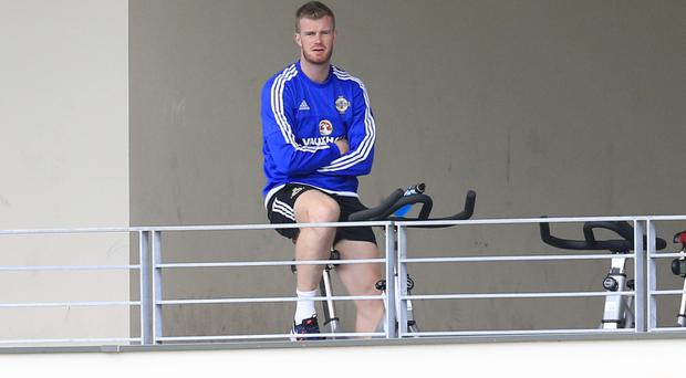 Chris Brunt could only watch on at Euro 2016 as he was injured