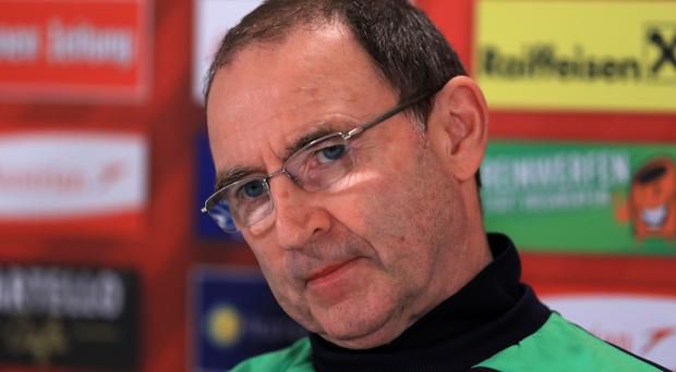 Republic of Ireland manager Martin O'Neill is looking to move on from the row over Everton midfielder James McCarthy