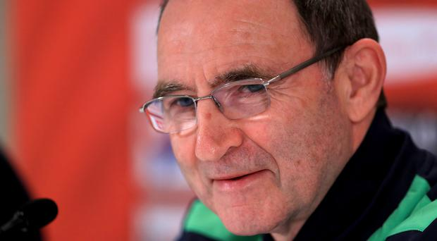 Republic of Ireland manager Martin O'Neill during the press conference at Ernst Happel Stadium, Vienna