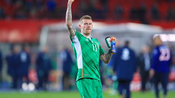 James McClean was the Republic's match-winner in Vienna