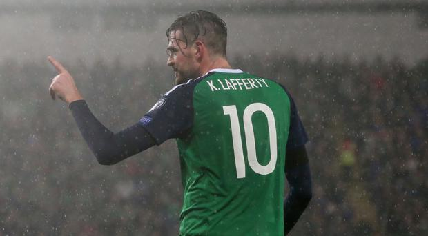 Kyle Lafferty has scored five goals this season, despite playing just 305 minutes