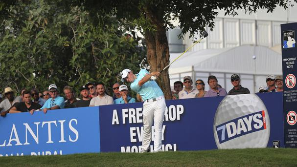 Matt Fitzpatrick lurks at World Tour Championship as Rory McIlroy fades