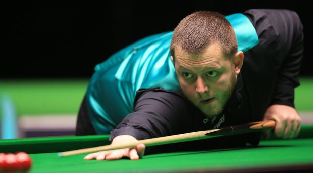 Mark Allen made his first 147 break
