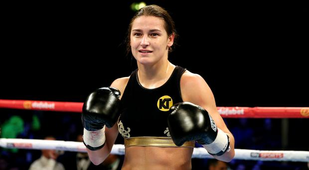 Katie Taylor's second professional fight is on December 10