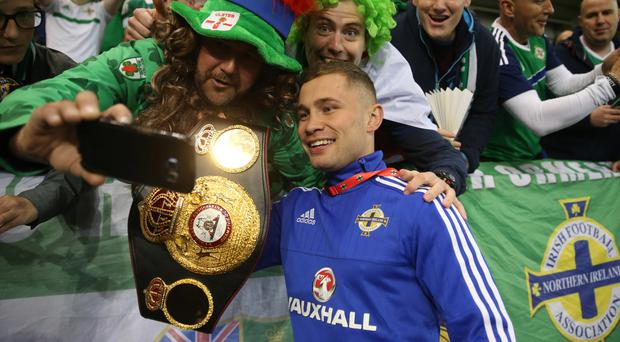 Carl Frampton became the first Northern Irishman to win world titles at two different weights this year