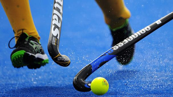A student who hurt her ankle after she slipped when she went to retrieve a hockey ball during a training session has sued her former school (Stock picture)