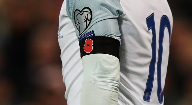 The English FA will request permission to wear the poppy against Germany