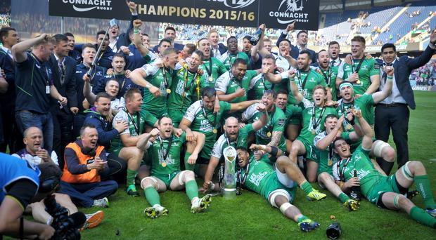 Connacht won last season's Guinness PRO12