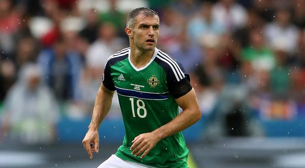Northern Ireland's Aaron Hughes has made the move to Edinburgh