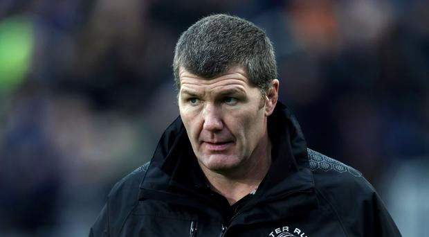 Rob Baxter was left to rue previous results after Exeter toppled Ulster