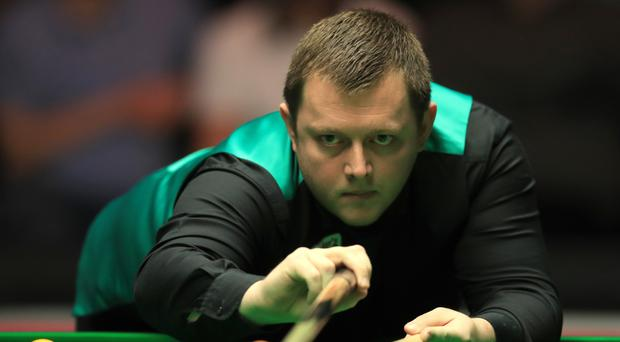 Mark Allen edged a tight match