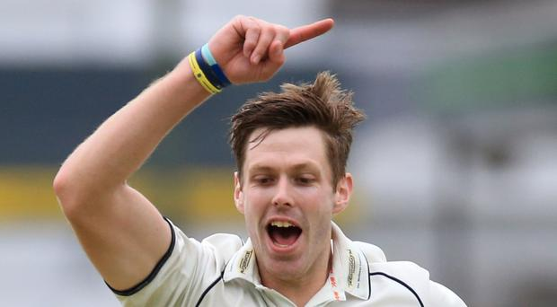 Ireland seamer Boyd Rankin was on song in Dubai