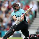 Gary Wilson hit his maiden Twenty20 international 50 in Ireland's semi-final win over Scotland