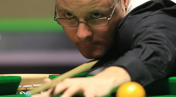 Martin Gould, pictured, beat Mark Selby in the Ladbrokes World Grand Prix