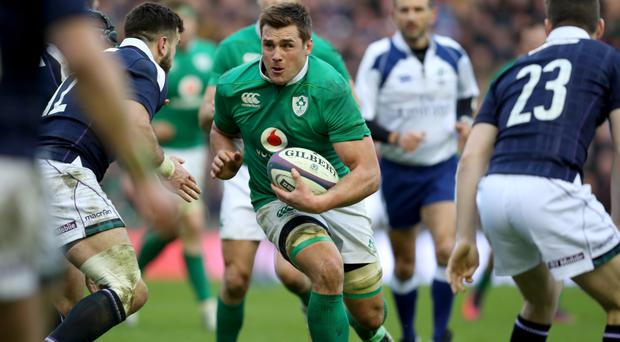 Williams has high praise for Ireland's CJ Stander