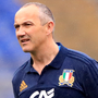 Italy manager Conor O'Shea Photo: PA News