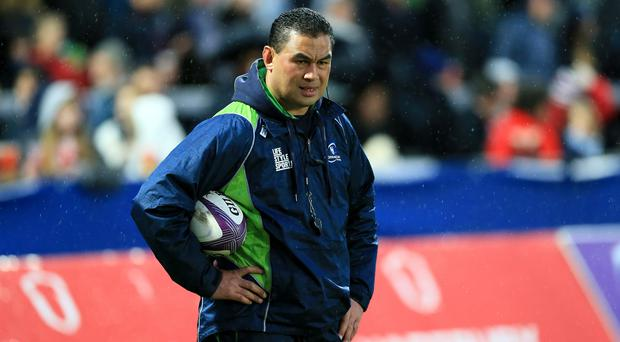Kieran Keane replaces Pat Lam, pictured, at Connacht this summer